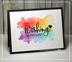 Wishing You Were Here by Jen Shults, stamps and dies from Simon Says Stamp