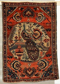Tappeto persiano, fine XIX inizio XX secolo  cm 232x135 from Cambi Casa d'Este