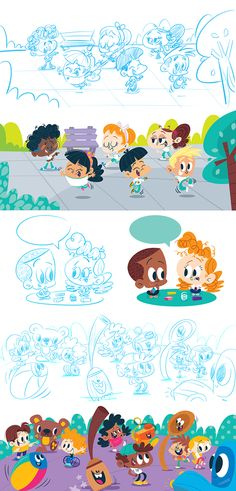 Pin by pooja gawande on characters design Children's Book Illustration, Character Illustration, Illustration Children, Children's Book Characters, Children's Comics, Kid Character, Character Design Animation, Children's Picture Books, Cartoon Kids