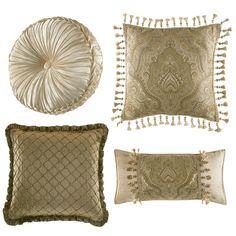 decorative+pillows+|+Croscill+Coppelia+Decorative+Pillows+Decorative+Pillows+at+Croscill+...