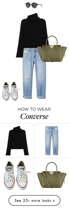 """ootd for travel"" by vanitornadu on Polyvore featuring Chloé, Valentino, Converse and Christian Dior"