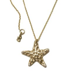 Manika Jewelry: Inspired by Nature, Starfish necklace by Becca Straus
