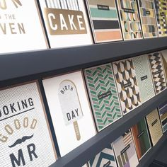 Gold foiling and muted hues on recycled board-yummy #velvetolive #designled #happybirthday #greetingscard #card #alloccasions #harrogate @homeandgiftharrogate