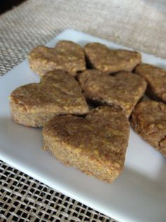 Chicken & Cheddar Dog Treats. * Note: Use homemade chicken broth or a store bought variety that does not include onion to be safe. It can be toxic to dogs, like garlic.