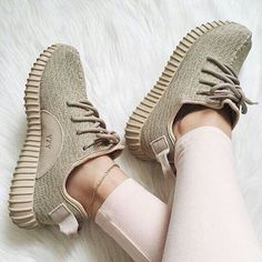 """Adidas"" Women Yeezy Boost Sneakers Running Sports Shoes from charmvip. Shop more products from charmvip on Wanelo. Adidas Sneakers, Shoes Sneakers, Sneakers Style, Adidas Shoes Green, Women's Shoes, Yeezy Sneakers, Latest Sneakers, Gym Outfits, Street Style"