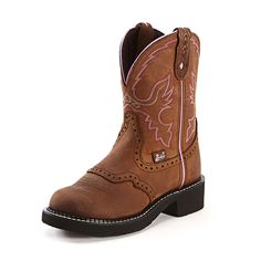 Justin Gypsy Aged Bark Cowgirl Boots - In our Tent Sale!