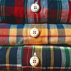 """Introducing """"The All American"""" to the Indian Madras collection later this week. (at Kiel James Patrick Factory)"""