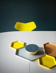 Republic of Fritz Hansen Store - Studiopepe...love the colors