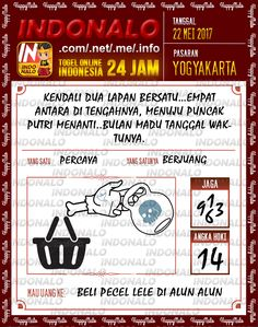 Kode Pakong 2D Togel Wap Online Indonalo Yogyakarta 22 Mei 2017