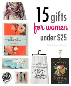 ALL AMAZON! 15 fun gifts for women {$25 or less!!}