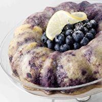 Blueberry Lemon Bundt Cake by Peas Love Carrots Blog