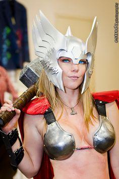 Thor Girl. Those eyes! #SDCC2012  #CosplayDoneRight #Cosplay by The.Erik.Estrada, via Flickr