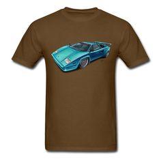 Lamborghini Countach t-Shirt (means, kids apparel)
