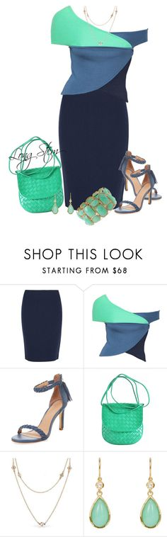 """""""2/22/17"""" by longstem ❤ liked on Polyvore featuring Armani Collezioni, Emilio Pucci, Joie, Bottega Veneta, Bling Jewelry, Irene Neuwirth and Forever 21"""