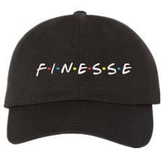 0edb9d3df93 Finesse Dad Hat. Black Baseball CapDad HatsBlack ...
