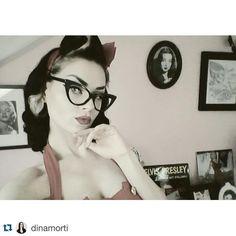 http://ift.tt/1RTzhh5 #Pinuppost @dinamorti  Marilyn et Morti toujours là