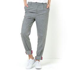 Pantalón de tweed SOFT GREY 39,99