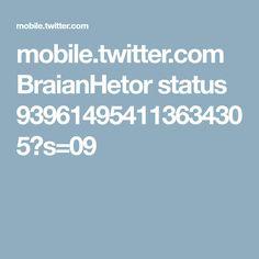 mobile.twitter.com BraianHetor status 939614954113634305?s=09