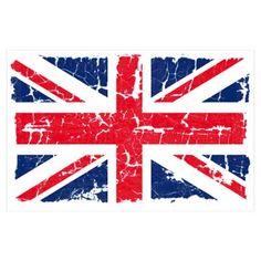 Distressed Union Jack