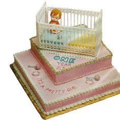 Baby's Big Day Cake