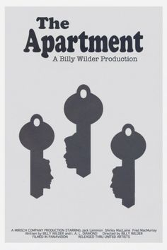 "Funny, touching and satirical all in one, ""The Apartment"" is a classic through and through. Jack Lemmon is a natural comedian, giving an even better performance than in ""Some Like it Hot"", and the ending is just stunning."