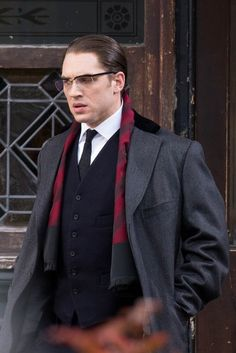 "Tom Hardy - ""Legend"". P.S lil bit sad,my Dad didn't like this movie at all and I was so excited to watch it with him together."
