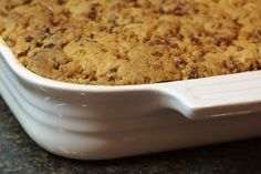 Pecan Crusted Apple-Pear Crisp with Tuaca | Bake or Break