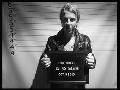 Tom Odell #mugshot @ The El Rey Theatre