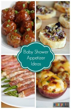 Food And Appetizers Idea For A Baby Shower