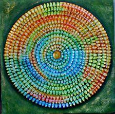 Mandala 3 by Helene Grasset