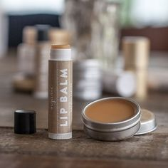 Make an all natural mixture for this soft and silky lip balm. These make great gifts too!