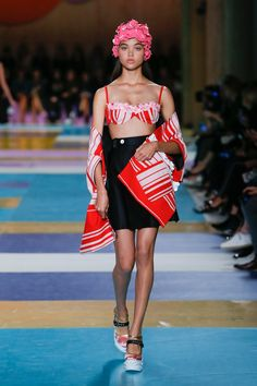 Miu Miu Spring 2017 Ready-to-Wear Fashion Show - Dilia Martins