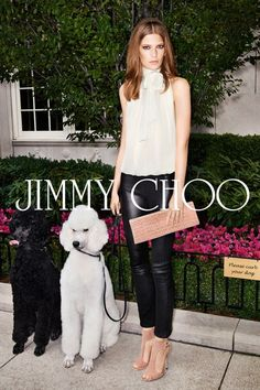 Jimmy Choo nude clutch and sandals seen in Jimmy Choo AD Campaign. #nudevotion