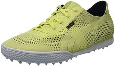 decf4c08310 Yoga mat insoles in these womens monolite cat woven golf shoes by Puma  provide all day