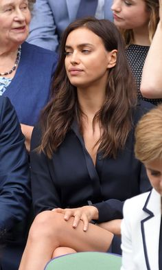 Bradley Cooper May Have Been in the Doghouse With Girlfriend Irina Shayk at Wimbledon