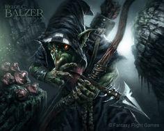 Warhammer - Night Goblin - (c) Fantasy Flight G. by helgecbalzer.deviantart.com on @DeviantArt