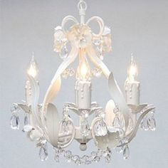 Sia Chandelier Tiffany For Bedrooms Dining Rooms Fixtures Pendant Light Lighting Sia Chandelier, Shabby Chic Chandelier, Crystal Chandelier Lighting, Flower Chandelier, Bedroom Chandeliers, Chandelier Ideas, Shabby Chic Lighting, Bathroom Chandelier, White Chandelier
