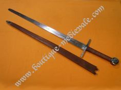 Boutique Médiévale, échoppe en ligne darticles de reproduction et dinspiration médiévales - Epée médiévale - Epée à deux mains XIII-XIVème siècle
