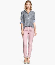 H&M hellrosa Jeans