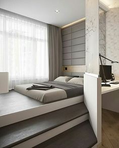Cool Bedroom Design Saint Petersburg Apartment By Igor Glushan @dopearchitect