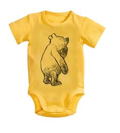 Hey, I found this really awesome Etsy listing at https://www.etsy.com/listing/220736361/winnie-the-pooh-baby-clothes-vintage