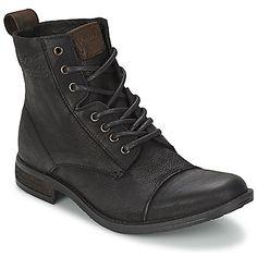 Rien de tel qu'une belle paire de boots signés Levis ! Leur allure androgyne et contemporaine permet aux hommes comme aux femmes de les chausser au quotidien avec des tenues élégantes et décontractées. - Couleur : Noir - Chaussures Homme 94,99 €