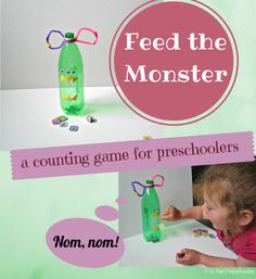 A silly counting game for preschoolers