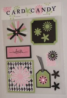 Looks Like Spring Card Candy by kittycatbailey - Cards and Paper Crafts at Splitcoaststampers