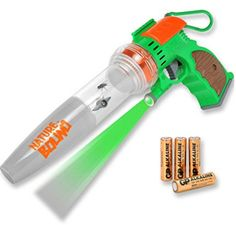 Nature Bound Bug Catcher Toy, Eco-Friendly Bug Vacuum, Catch and Release Indoor/Outdoor Play, Ages - Your Dream Toys Outdoor Play, Indoor Outdoor, Lazer Lights, Bug Toys, Vacuum Reviews, Thing 1, Game Sales, Star Wars Collection, Light Up