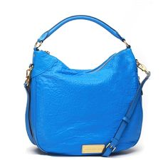 Marc by Marc Jacobs Washed Up Billy Leather Hobo, Blueglow List Price: $458.00 Our Price: $350.00 Savings: $108.00