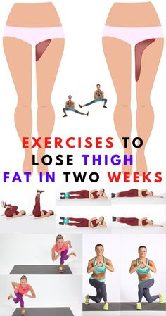 Extra fat can be formed anywhere in the body. They come from ingest calories than your body can take. Here are 10 exercises to lose thigh fat in two weeks. #thigh #losethighfat #exercisestolosethighfat #body #leg #hips #weeks #lossweight #workout #people #partner #couple #men #women #2weeks Lose Thigh Fat, Slim Thighs, Exercises, Lost, Weight Loss, Workout, Couples, Fitness, People