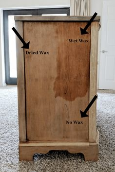 Cherry Wood Dresser, Cherry Wood Furniture, Natural Wood Furniture, Paint Furniture, Furniture Makeover, Bedroom Furniture, Natural Wood Dresser, Furniture Refinishing, Refurbished Furniture