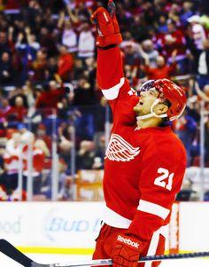 Tomas Tatar Hockey Goalie, Hockey Games, Hockey Mom, Hockey Players, Ice Hockey, Detroit Hockey, Detroit Sports, Detroit Tigers, Nhl 2016