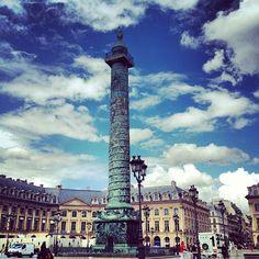 Place Vendôme à Paris, Île-de-France
